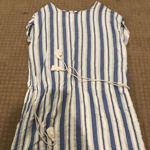 Forever 21 Striped Cotton Dress/Coverup